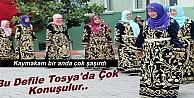 TOSYA KIZ MESLEK LİSESİ BİNDALLI DEFİLESİ