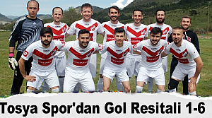 Tosya Spordan Gol Resitali 1-6