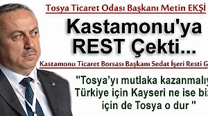 TOSYA TİCARET ODASI BAŞKANI METİN EKŞİ '' YOL İSTİYORUZ ''