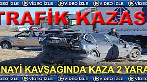 Tosya Trafik Kazası 2 Yaralı