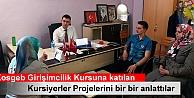 TOSYADA KOSGEB GİRİŞİMCİLİK KURSU AÇILDI