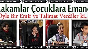 Tosya'da Makamlar Çocuklara Emanet