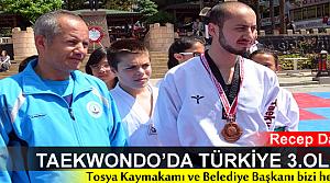 TOSYALI SPORCU TEKWANDODA TÜRKİYE 3.OLDU