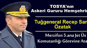 Tuğgeneral Recep Sami Özatak Merzifon 5.Ana Jet Üssü Komutanı