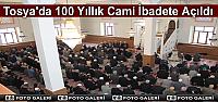 100 Yıllık Cami Yeniden İbadete Açıldı
