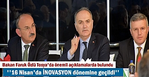 Bakan Faruk Özlü Tosya'da Sanayiclerle bir araya geldi (VİDEO HABER )