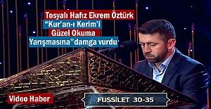 """Tosyalı Hafız """"Kur'an-ı Kerim'i Güzel Okuma Yarışmasın""""da hafta birincisi oldu"""