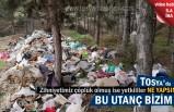 Tosya'da Çevre Kirliliği ve Yangın Tehlikesi