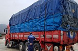 Tosya Organize Sanayide Kamyonla Kapı hırsızlığı