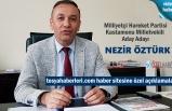 Milliyetçi Hareket Partisi Kastamonu Milletvekili Aday Adayı Nezir Öztürk Basın Açıklaması