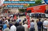Milliyetçi Hareket Partisi Tosya'da düzenlediği seçim mitinginde milletvekili adaylarını tanıttı.