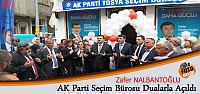 AK PARTİ TOSYA SEÇİM BÜROSU DUALARLA...