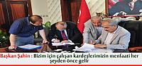 Başkan Şahin ''Önce Personelimizi Mutlu Edeçeğiz