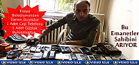 Tosya Belediyesi İlan Servisi Kayıp Eşyaların sahibini arıyor