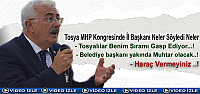 TOSYA MHP KONGRESİNE İL BAŞKANI DAMGA...
