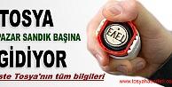 TOSYA PAZAR GÜNÜ SANDIĞA GİDİYOR
