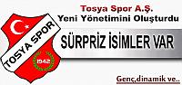 Tosya Spor A.Ş. Yeni Yönetimini Oluşturdu