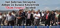 VALİ ŞEHMUS GÜNAYDIN TOSYA'DA ''ÖLÜM...