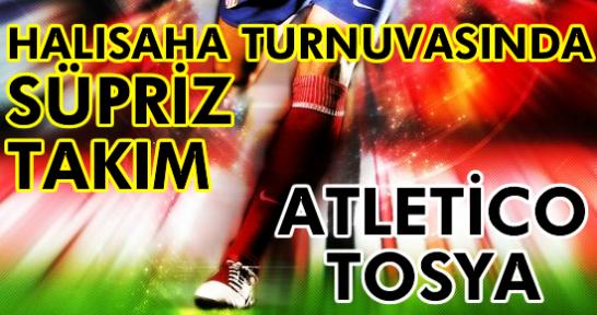Tosya 16. Halısaha Futbol Turnuvasında Süpriz Takım ATLETİCO TOSYA