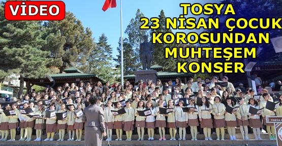 Tosya 23 Nisan Çocuk Korosundan Konser (video )
