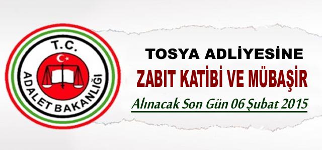 Tosya Adliyesi'ne sözleşmeli personel alınacak