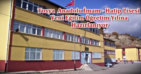 Tosya Anadolu İmam Hatip Lisesi Yeni Eğitime Hazırlanıyor