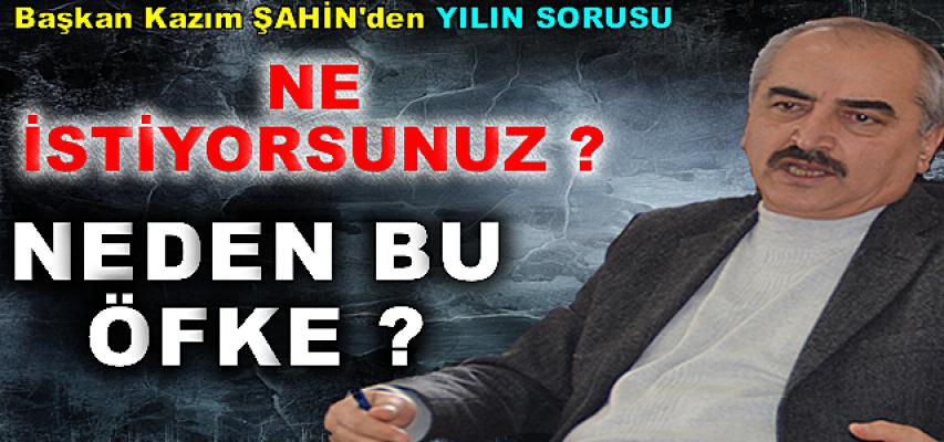 Tosya Belediye Başkanı Kazım Şahin''Bu ne perhiz, bu ne lahana turşusu''