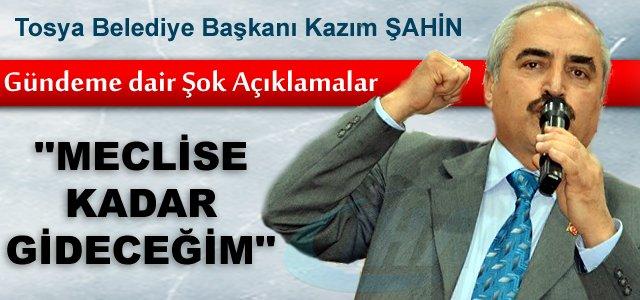 """Tosya Belediye Başkanı Şahin: """"Mevzuatlar göç ettirmeye zorluyor"""""""