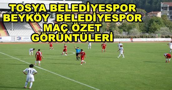 Tosya Belediye Spor - Beyköy BLD. Spor Maçı Görüntüleri VİDEO