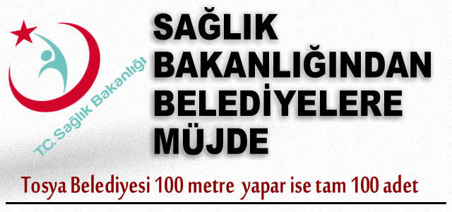 Tosya Belediyesi 100 metre yapar Yol yapar