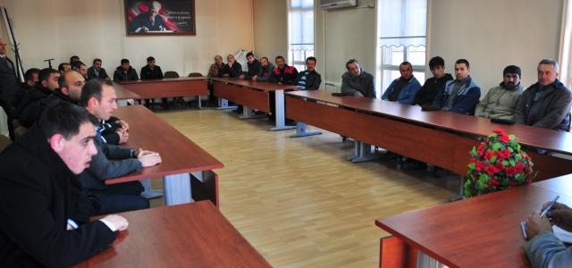 Tosya Belediyesi 2014 yılı öncesi istişare toplantılarına devam ediyor