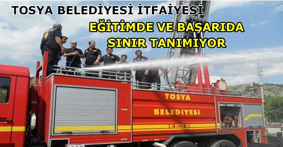 TOSYA BELEDİYESİ İTFAİYESİ '''BAŞARI VE EĞİTİMDE SINIR TANIMIYOR''