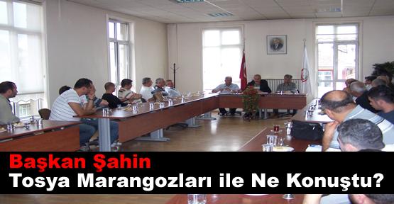 Tosya Belediyesi Marangoz Esnafı İle İstişare Toplantısı Düzenledi