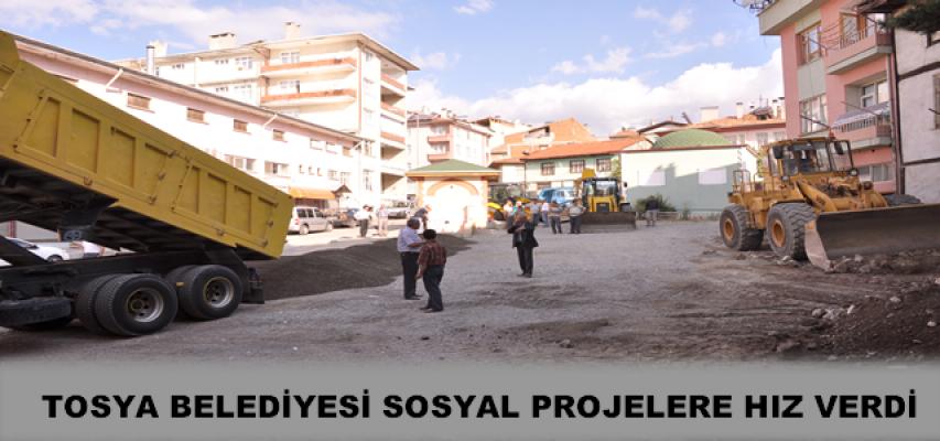 TOSYA BELEDİYESİ SOSYAL PROJELERE HIZ VERDİ