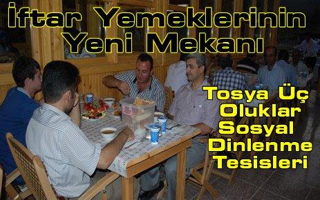 Tosya Belediyesi Üçoluklarda İftar Yemeği Verdi