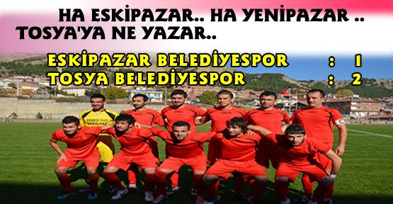 Tosya Belediyespor:2 - Eskipazar Belediyespor : 1