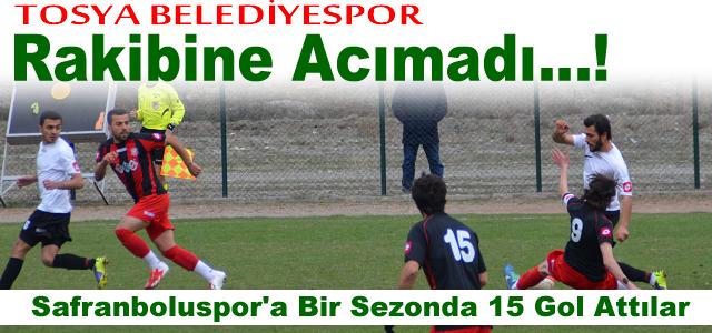 Tosya Belediyespor: 7 - Safranboluspor : 3