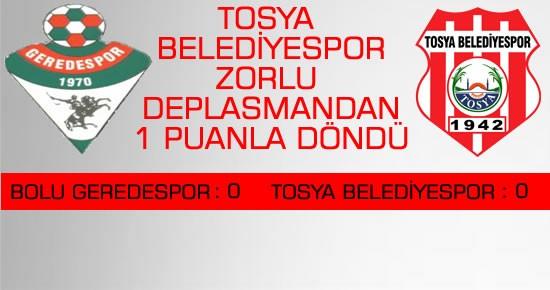 Tosya BelediyeSpor Bal Ligine 1 Puanla Merhaba Dedi