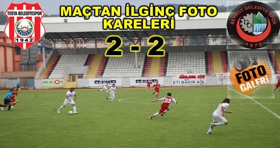Tosya Belediyespor-Beyköy Belediyespor Maçtan Kareler