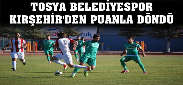 Tosya Belediyespor Kırşehir'den Puanla Döndü
