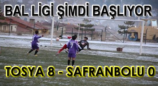 Tosya BLD. Spor Bal Liginde Rekor Kırdı 8-0