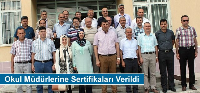 Tosya'da Okul Müdürlerine...