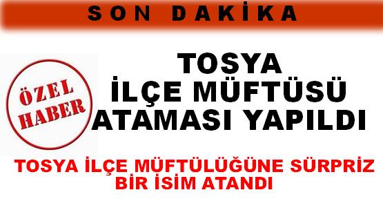 Tosya İlçe Müftülüğüne Mehmet Korkmaz Atandı