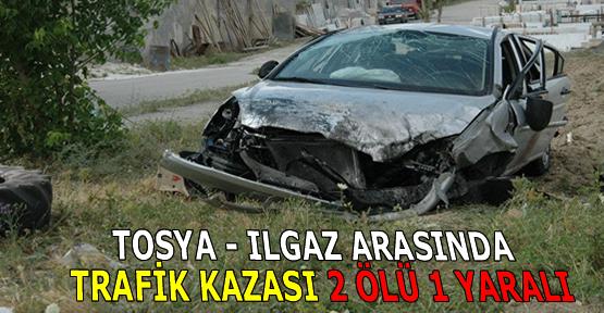 Tosya-Ilgaz Arasında Trafik Kazası