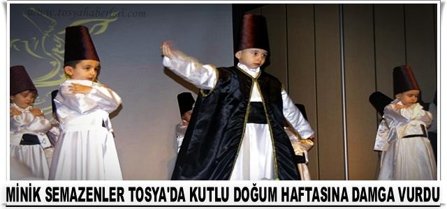 TOSYA İMAM HATİP ORTAOKUL SEMAZENLERİ GÖNÜLLERİ FETHETTİ