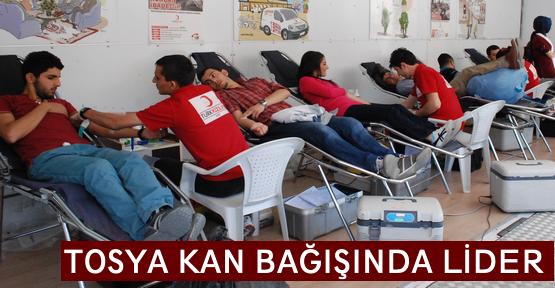 Tosya Kan Bağışında Yine Lider