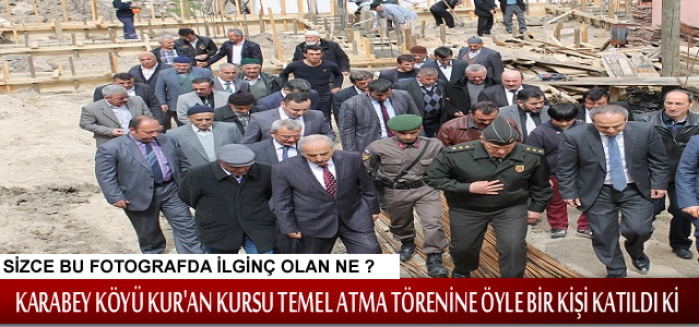 TOSYA KARABEY KÖYÜNE KUR'AN KURSU TEMELİ ATILDI