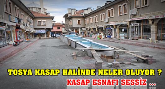 Tosya Kasap Hali Çehresi Değişiyor