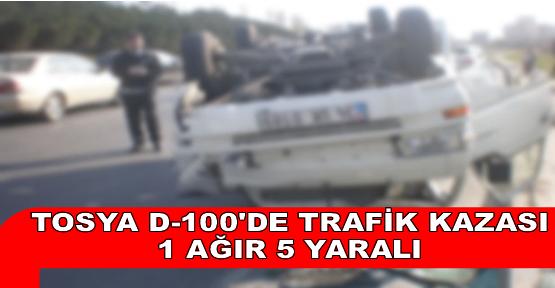Tosya Kayaönü Köyü Mevkiinde Trafik Kazası