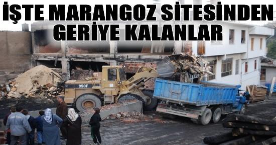 Tosya Marangozlar Sanayi Sitesi Yangınından Geriye Kalanlar